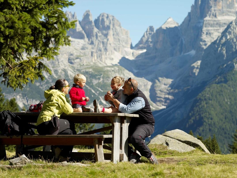 Mangiare in montagna