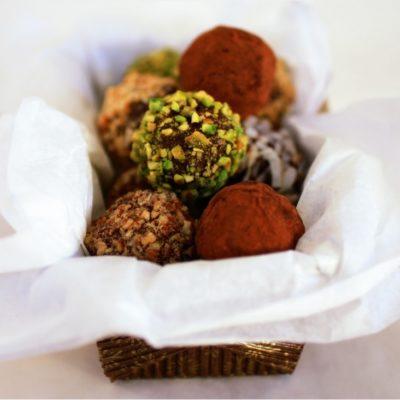 Tartufi al cioccolato vegani