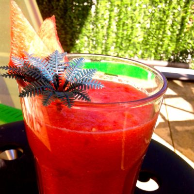 Aperitivo light: Smoothies di anguria